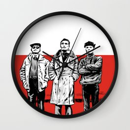 Three dudes Wall Clock