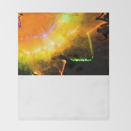 Fireworks  Throw Blanket