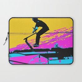 Free Falling - Stunt Scooter Rider Laptop Sleeve