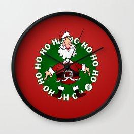 Santa Claus: Ho Ho Ho Wall Clock