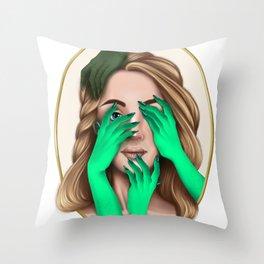 Mental health series - Anxiety Throw Pillow