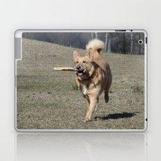 Running Dog Laptop & iPad Skin