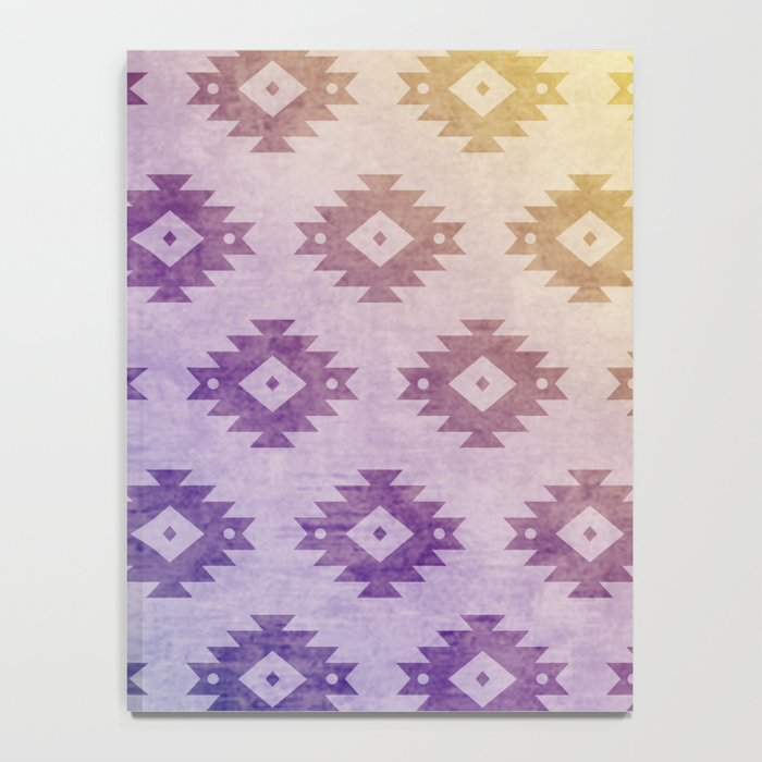 Aztec Pattern 06 Notebook