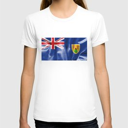 Turks and Caicos Islands Flag T-shirt