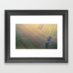 Dutch Fields Framed Art Print