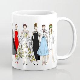 Outfits of Audrey Fashion (White) Coffee Mug