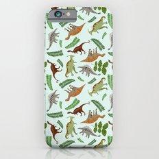 Dinosaurs & Leaves iPhone 6s Slim Case