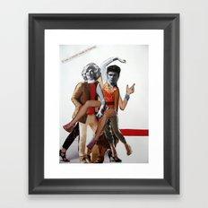 A Match Made in Heaven Framed Art Print
