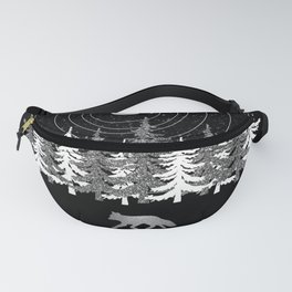 Alone Time - Solar System Nature Fox Fanny Pack