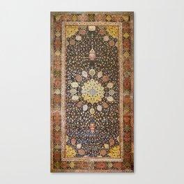 Ardabil Persian Safavid Carpet Canvas Print