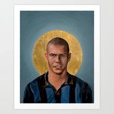 RN (1997) - Football Icon Art Print