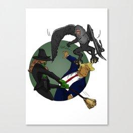 Wicked Always Wins - Zelena Version Canvas Print
