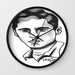 Chico Buarque de Hollanda Wall Clock