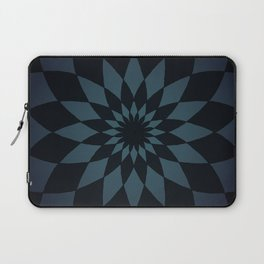 Wonderland Floor in Muted Rain Colors Laptop Sleeve