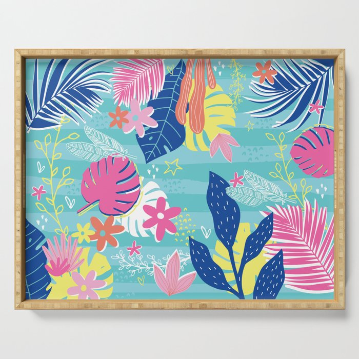 Tropical Vibes Serving Tray