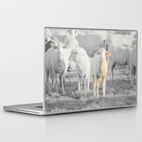 stay gold Laptop & iPad Skins featuring STAY GOLD by SUNLIGHT STUDIOS  Monika Strigel