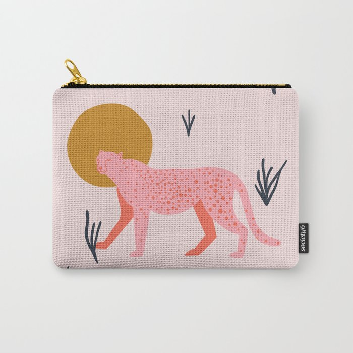 trot cat Carry-All Pouch