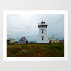 North-Rustico Lighthouse Art Print