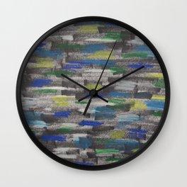 Speeding Past the City Wall Clock