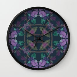 DIFFERENT VINES II Wall Clock