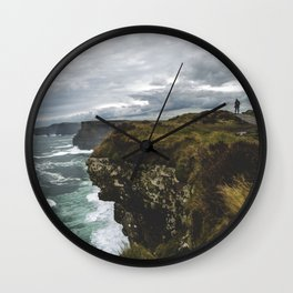 Walk the Line Wall Clock