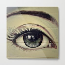 Eyes are Windows to the Soul Metal Print