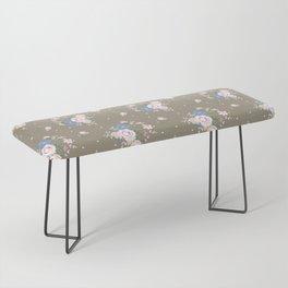 Heirloom Rose - Raw Umber Bench