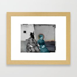 Our Separate Chapters Framed Art Print