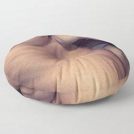Man Heat Floor Pillow