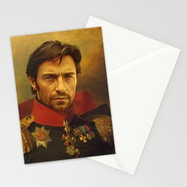 Hugh Jackman - replaceface Stationery Cards