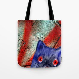 Gordon The Graffiti Cat Tote Bag