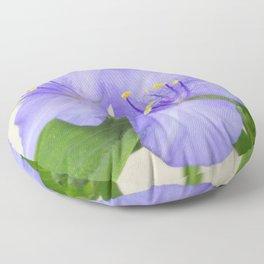 Spiderwort Floor Pillow