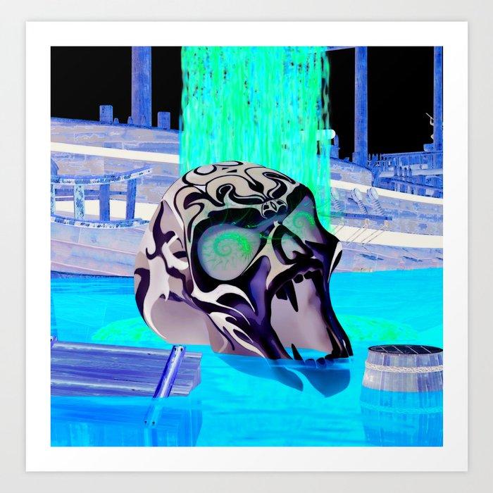Oblivion Horror 3D Art Print