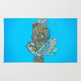Bird Migration Rug