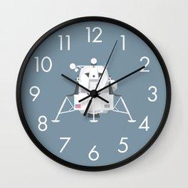 Apollo Lunar Lander Module - Slate Wall Clock