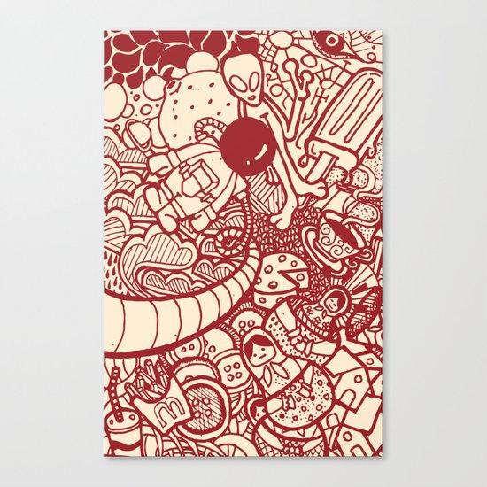 #MoleskineDaily_06 Canvas Print