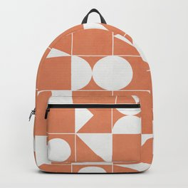 My Favorite Geometric Patterns No.14 - Coral Backpack