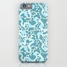 Night Ice flowers Slim Case iPhone 6s