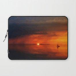 Amazing sunset adventure Laptop Sleeve