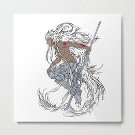 Muu Alexius Djinn Equip Barbatos 3 Metal Print