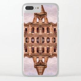 Mirror Coliseum I Clear iPhone Case