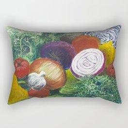 Garden Bounty Rectangular Pillow