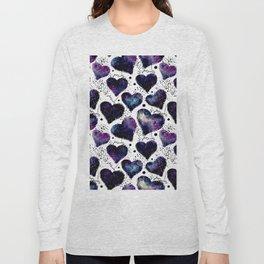 Galaxy Heart Pattern 02 Long Sleeve T-shirt