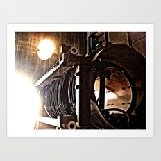 the machine Art Print