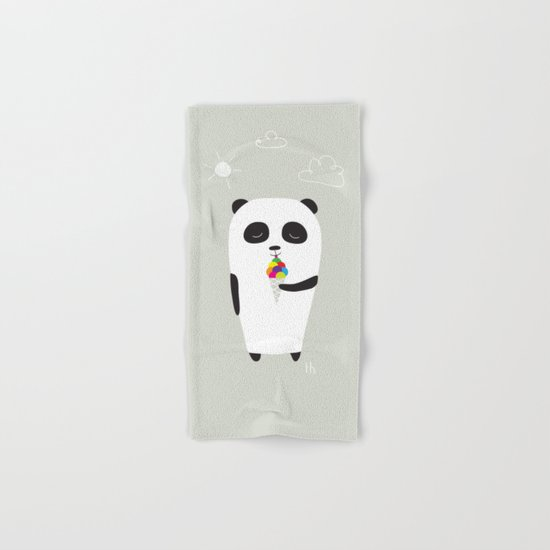 The Happy Ice Cream Hand & Bath Towel