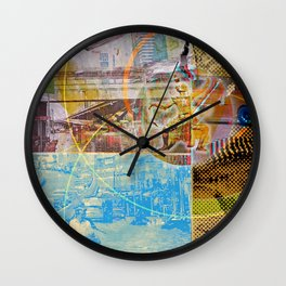 Collateral^2ndHand°FloodNewz Wall Clock
