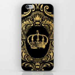 Gold Crown iPhone Skin