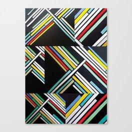 80S Back Canvas Print