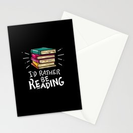 Book Worms - I'd rather be reading Stationery Cards