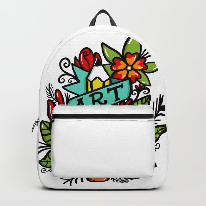 art is hard Backpack